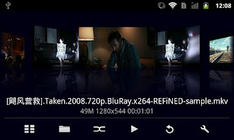 Screenshot of MoboPlayer Codec for ARMV7VFP3