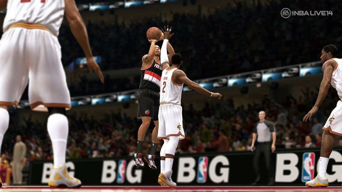 EA Sports apologizes for lacklustre NBA Live 14, improvements are incoming