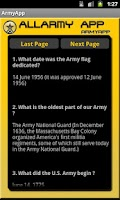 Screenshot of AllArmyApp