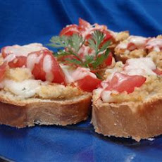 Bruschetta with Hummus