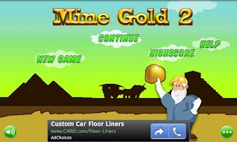Screenshot of Mine Gold 2