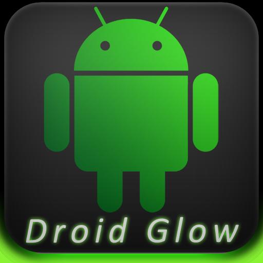Droid Glow ADW Theme LOGO-APP點子