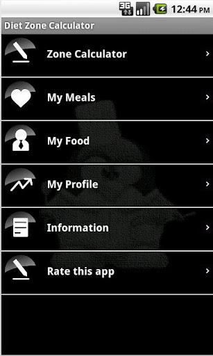 Diet Zone Calculator
