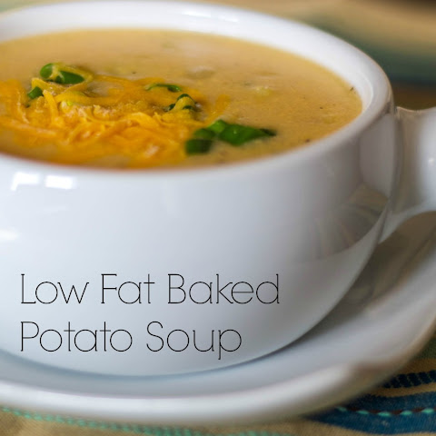 Baked Potato Soup (Low Fat)
