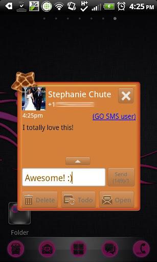 【免費個人化App】GO SMS - Star Giraffe-APP點子