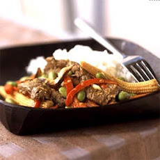 Sesame Beef and Asian Vegetable Stir-Fry