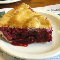 Raspberry-Blueberry Pie