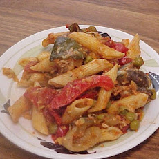 Baked Penne With Roasted Vegetables,courtesy Giada De La