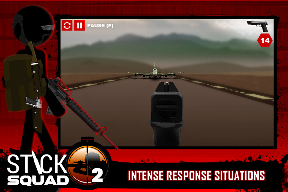 Stick Squad 2 - Shooting Elite Screenshot 5