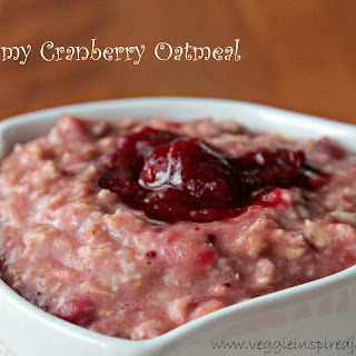 Creamy Cranberry Oatmeal