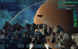 Screenshot of Vendetta Online (3D Space MMO)