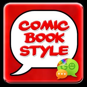 Cover art Superhero Comic Book SMS Theme