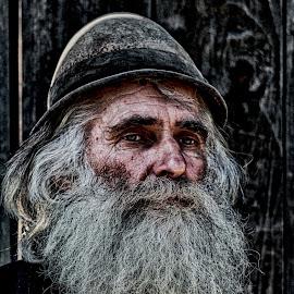 Sadness by Kitting Dominic - People Portraits of Men ( hdr, sad, oldman, people, man )