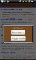 Screenshot of iCompass