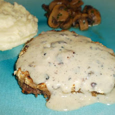 Cream Gravy for  Chicken Fried Steak (Light)