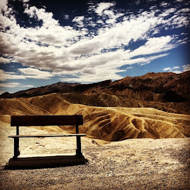 by Francesco Rimini - Landscapes Travel ( bench )