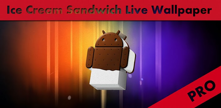 Ice Cream Sandwich Live Wallpaper Pro v1.10