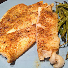 Blackened Sole Fish