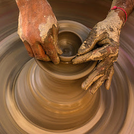 Spinns of life... by Rakesh Syal - Artistic Objects Other Objects