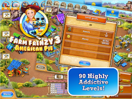Screenshot of Farm Frenzy 3: American Pie