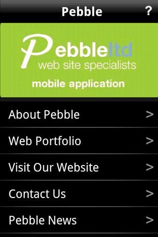 Pebble Web Design
