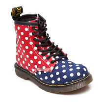 Dr Martens Delaney Polka Dot Boot BOOTS