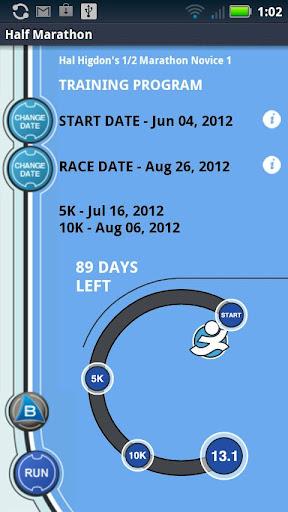 Hal Higdon's 1 2 Marathon - N1