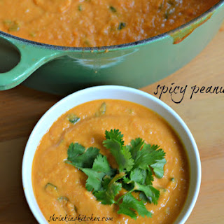 Spicy Peanut Soup