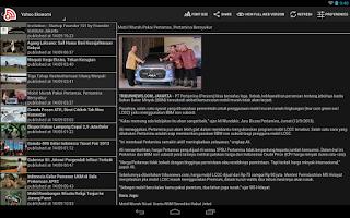 Screenshot of Indonesia News