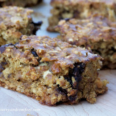 Banana Oat and Chocolate Bars