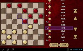 Screenshot of Checkers