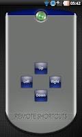 Screenshot of Remote Shortcuts