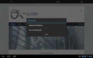 Screenshot of Crescendo Launcher