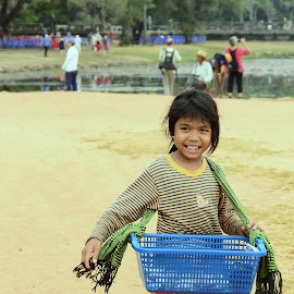 Child Vendor by Sue Cuachon-Facultad - People Street & Candids