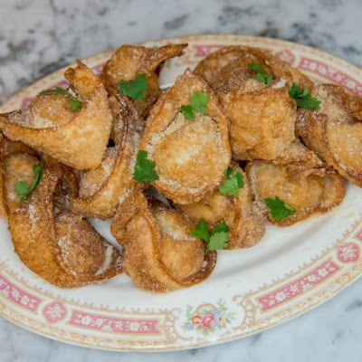 Spicy Cajun Crab Rangoon
