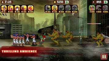 Screenshot of Baseball Vs Zombies