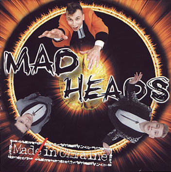 Mad Heads - Mad In Ukraine [1998]