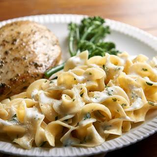 Cheesy Buttered Noodles