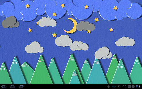 App Paper Sky Live Wallpaper APK For Windows Phone Android Games And Apps