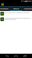 Screenshot of McDonald's Córdoba Promociones