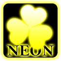 Yellow neon Go Launcher theme icon