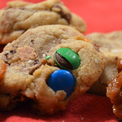 Halloween Candy Bowl Cookies