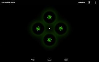 Screenshot of Force Fields - Live Wallpaper