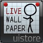 StickMan LWallpaper [FL ver.] icon