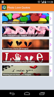 Screenshot of Love Picture Quotes