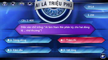 Screenshot of Ai La Trieu Phu 2014 HOT