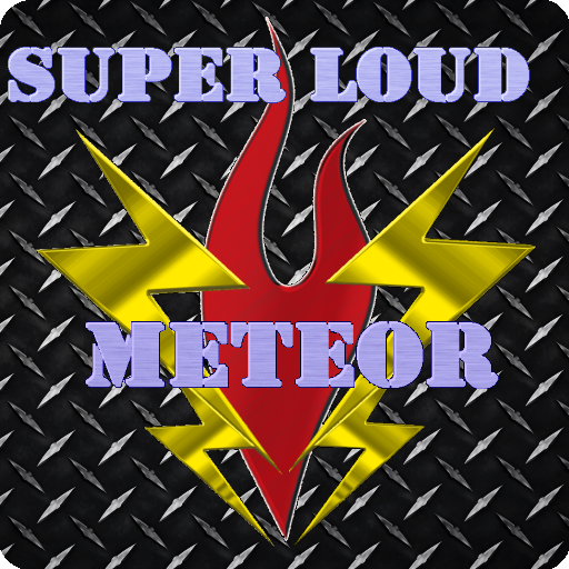 媒体与影片のSuperLoud Meteor, Audio Player LOGO-記事Game