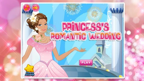 Princess's romantic wedding - screenshot