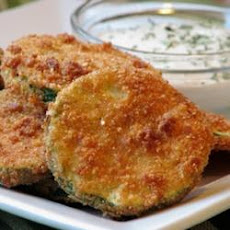 Kelli's Fried Green Zucchini