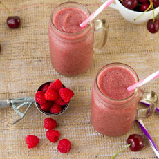 Blushing Apple Smoothie